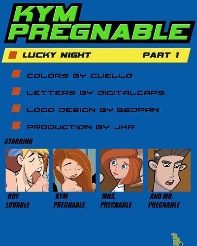 Kym Pregnable -Kim Possible
