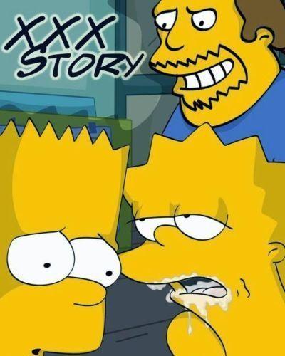 simpson XXX storia in fumetti