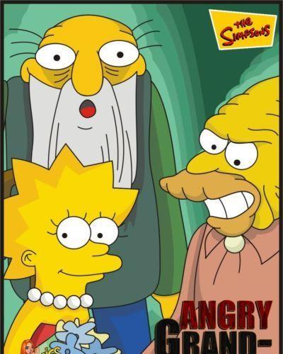 辛普森一家 愤怒 大 爸爸