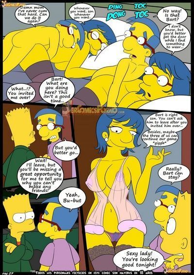 The Simpsons 6 - Learning With Mom - part 2