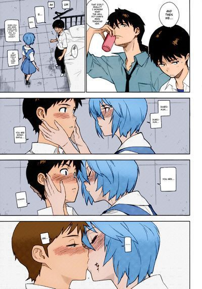 [enuma elish (Yukimi)] LIKE A BEAST (Neon Genesis Evangelion)  ==Strange Companions== [Colorized]