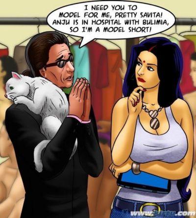 Savita Bhabhi -71 – Pussy on the Catwalk - part 3