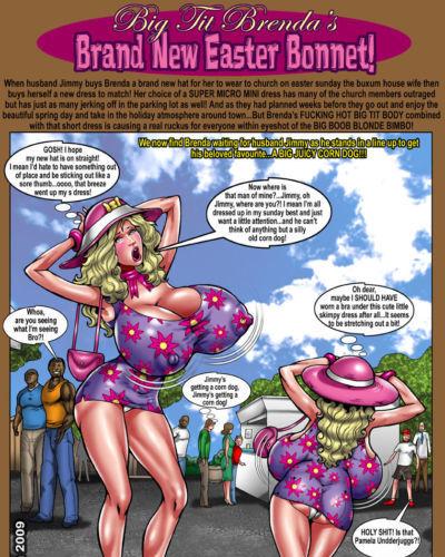 Brand New Easter Bonnet- Smudge