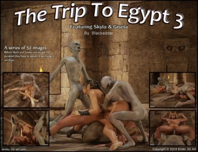 Blackadder- Trip to Egypt 3