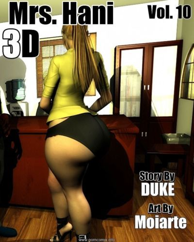 Mrs. Hani 3D Vol.10- Duke Honey