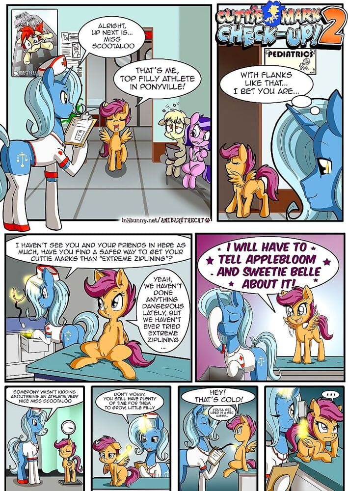 Cutie Mark Check-Up! 2