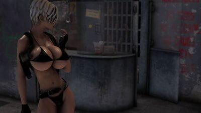 Joos3DArt- Action Girl