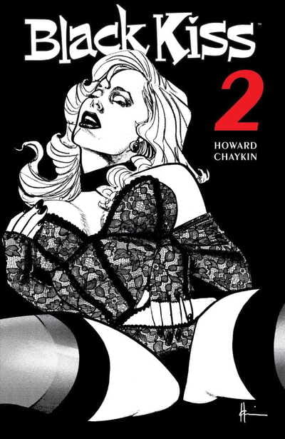 Howard Chaykin Black Kiss 2