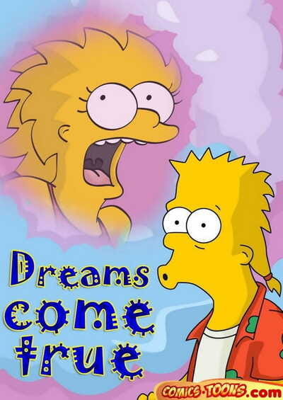 Comics Toons – Dreams come true The Simpsons