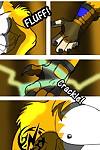 Lightning Fursona Transformation