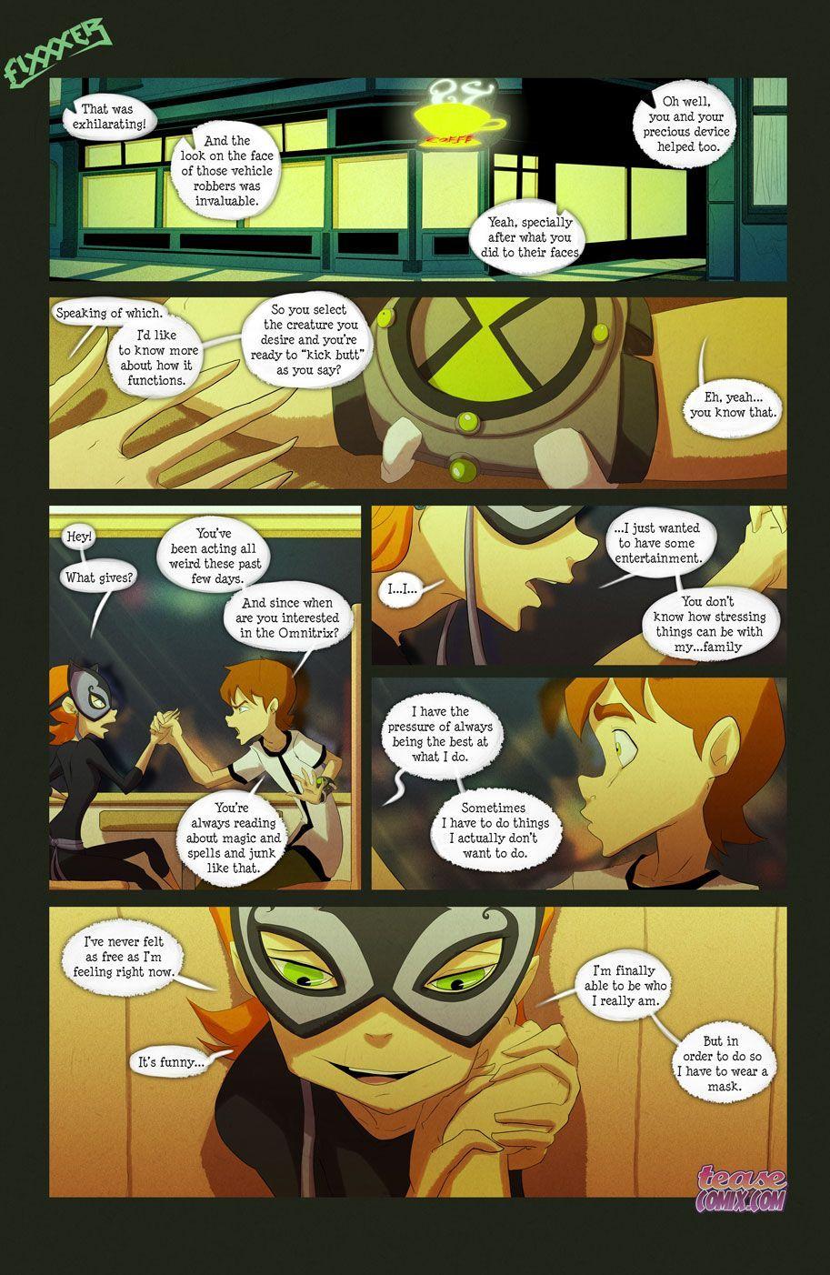 free xxx ben ten threesome cartoons