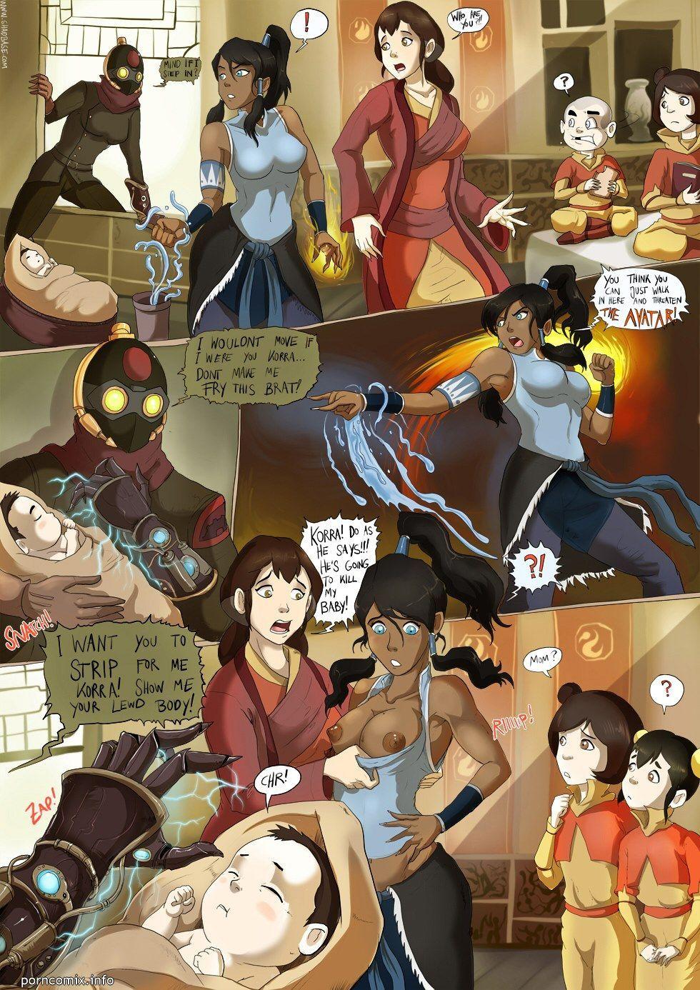 Korra Hentai Comics