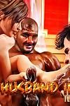Cuckold Husband Initiation- Interracialsex3d - part 2