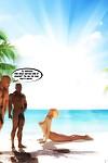 BBC Cum Slut On Vacation- InterracialSex3D