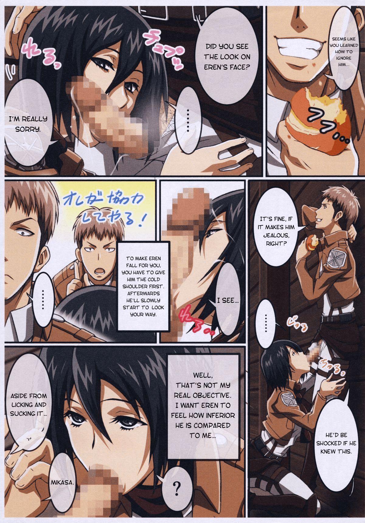 Titan Hentai Angriff Mikasa ATTACK ON