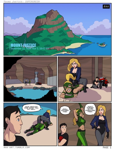 Young Justice - Supergreen