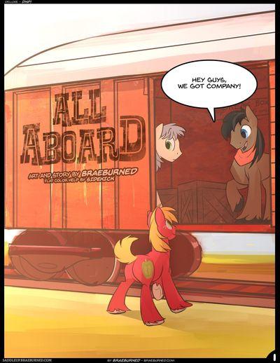 [braeburned] كل على متن (my قليلا pony: الصداقة هو magic)