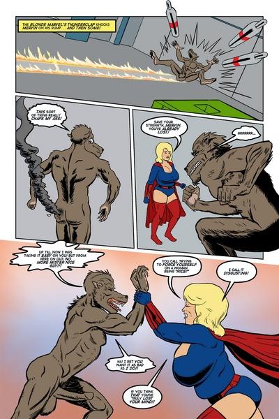 Blonde Marvel - Mervin The Monster - part 2