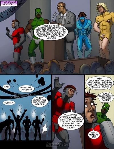 Cosmic Heroes 3