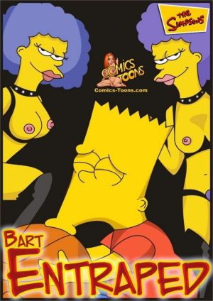 The Simpsons- Bart Entraped