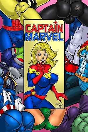 Iceman Blue- Captain Marvel