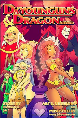 Jab Comix- Da'Younguns & Dragons 2