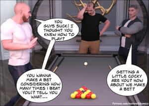 Mature3dcomics -A bets a bet