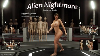 Erotic 3D Art (Blackadder) - Alien Nightmare