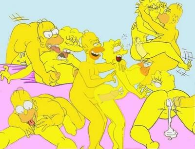 Never Ending Porn Story (Simpsons) - part 2