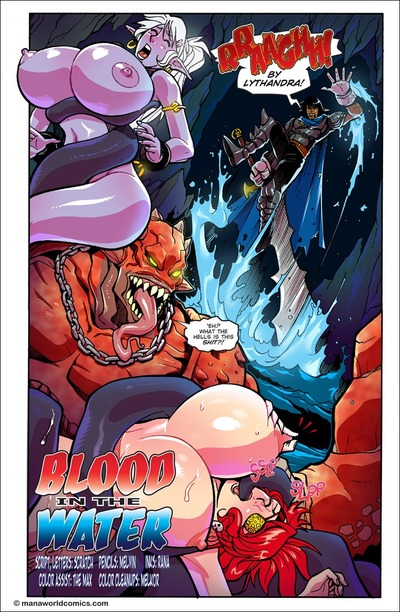 Blood in the Water- Mana World