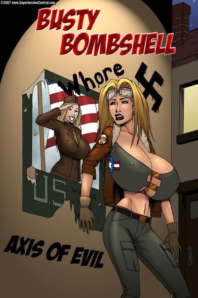Busty Bombshell- Axis of Evil- DeucesWorld