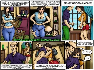 Tricked- illustrated interracial
