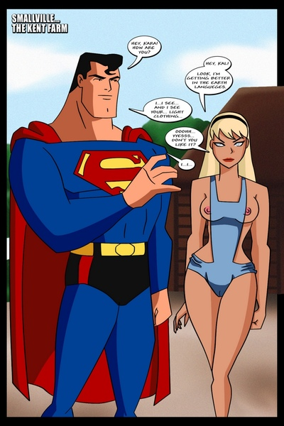 Supergirl Adventures 2 - Horny Little Gich