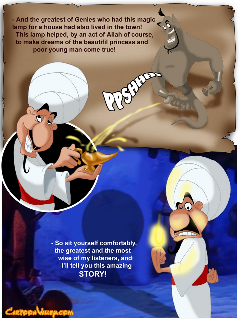 Aladdin - The Fucker From Agrabah