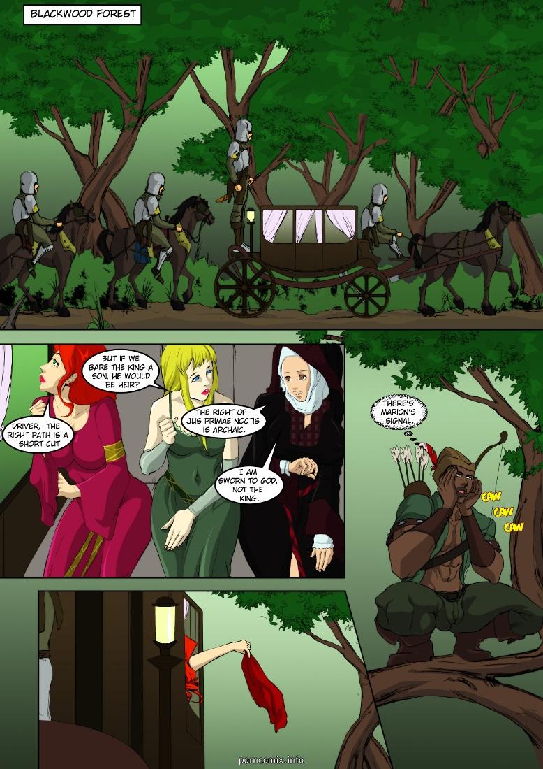 Adventures of Throbbin Hood- BNW