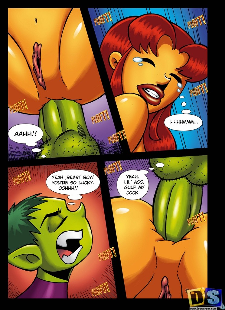 Teen Titans- Drawn Sex