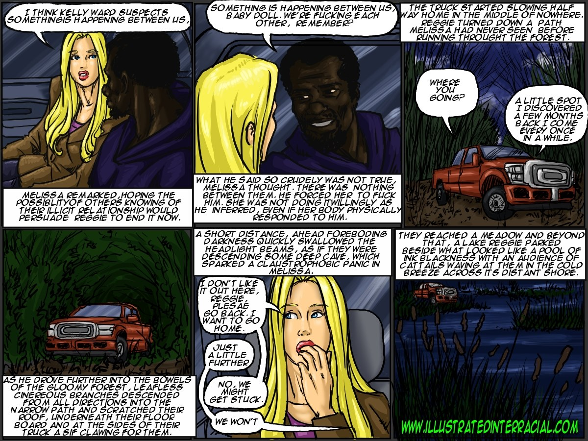 Illustrated interracial- New Parishioner - part 4