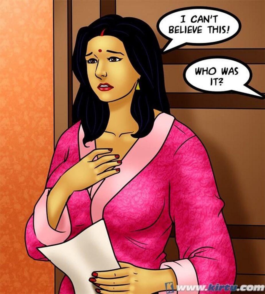 Savita Bhabhi 73- Caught in the Act - part 2