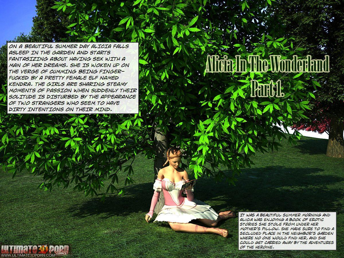 Alicia in the wonderland. Part 1