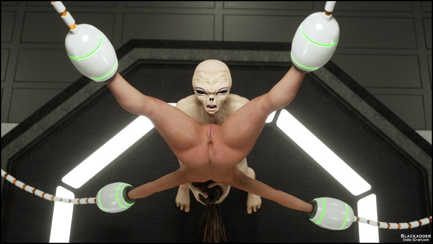 Erotic 3D Art (Blackadder) - Alien Nightmare - part 2