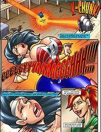 Superheroine- American Fox- Spotlight on Terror
