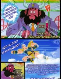 Revenge of Nappa- Dragon Ball