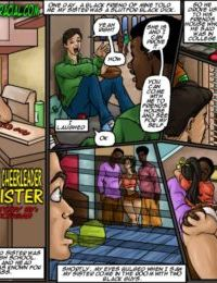 Illustrated Interracial- My Cheerleader Sister