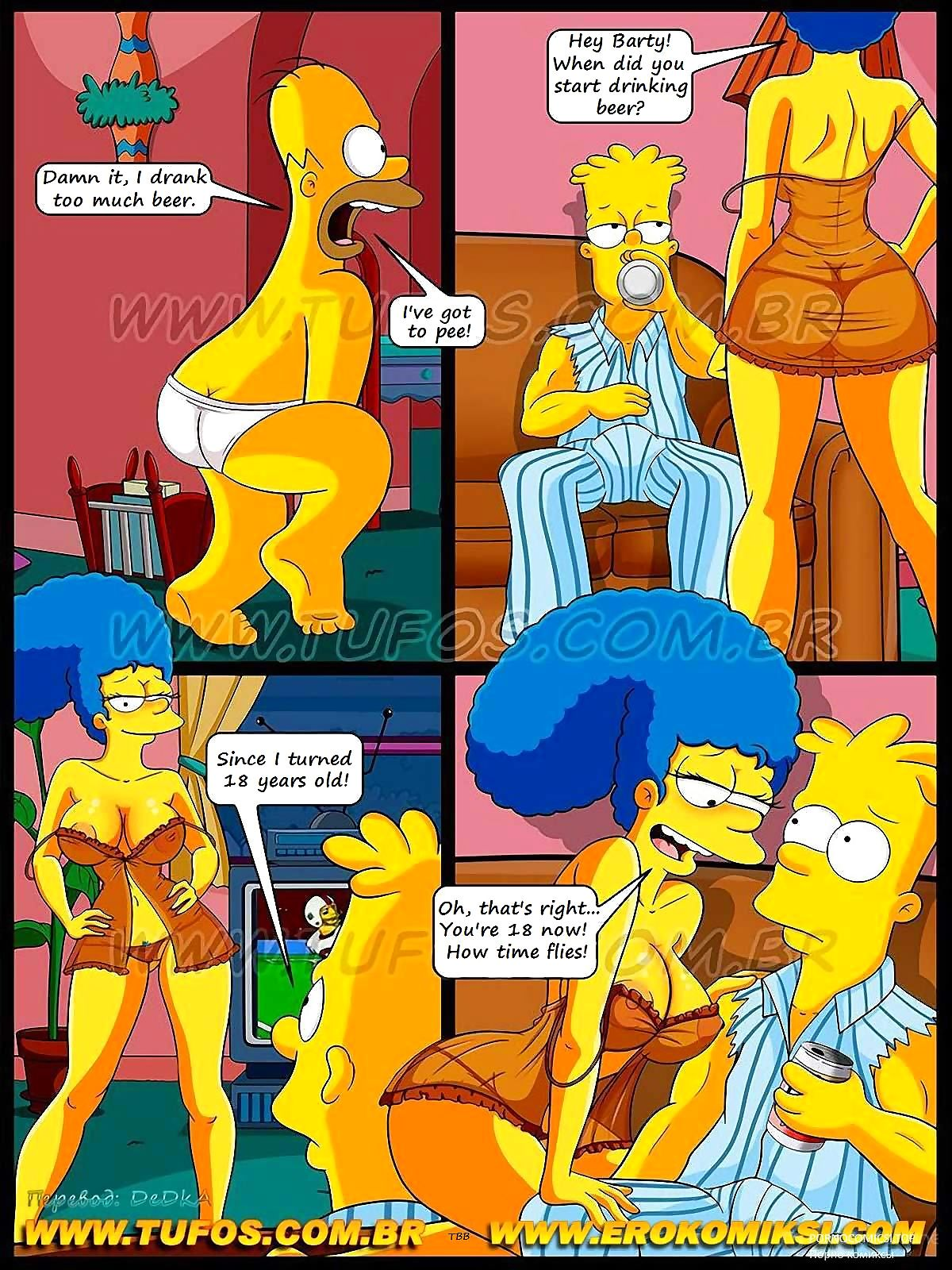 The Simpsons – Football and Beer Part 1