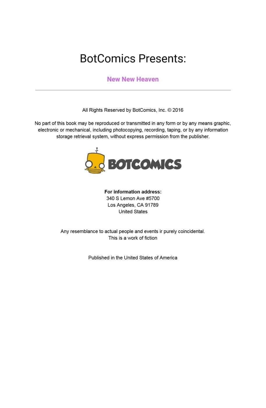 Bot- New New Heaven Issue 3