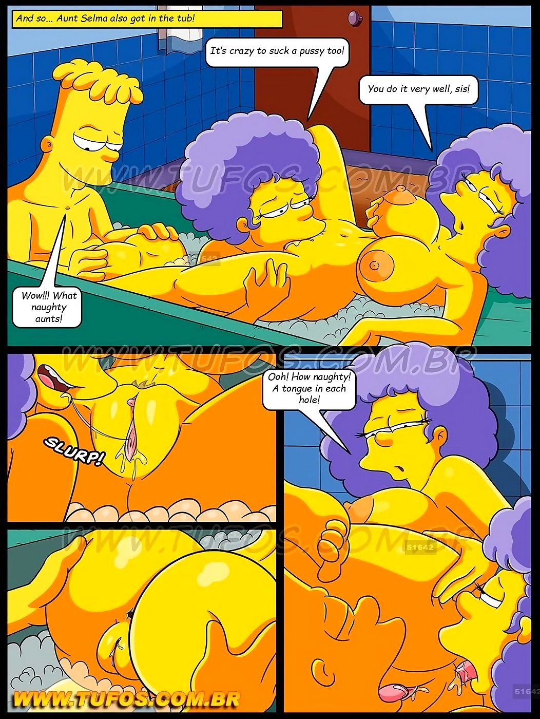 The Simpsons 8- In The Bathtub With My Aunts-