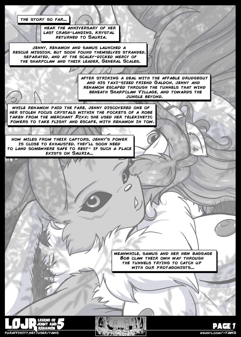 Yawg- The Legend of Jenny And Renamon Issue 5