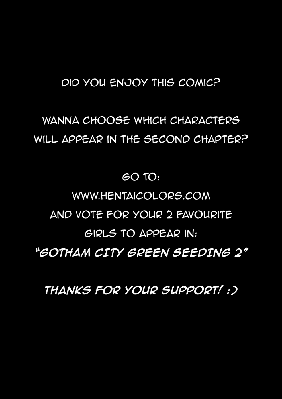 Gotham City- Green Seeding (WitchKing00) - part 2
