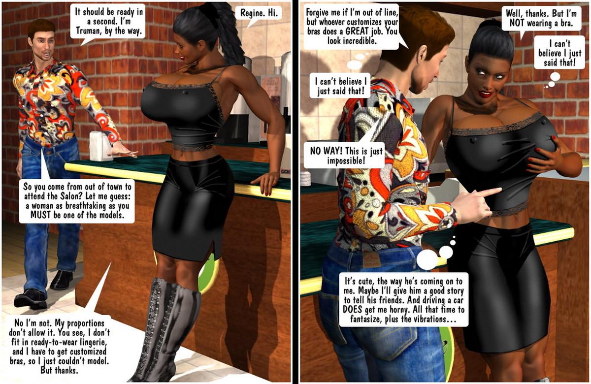 Big Girl Lost Regine and Truman Ebony- Entropy