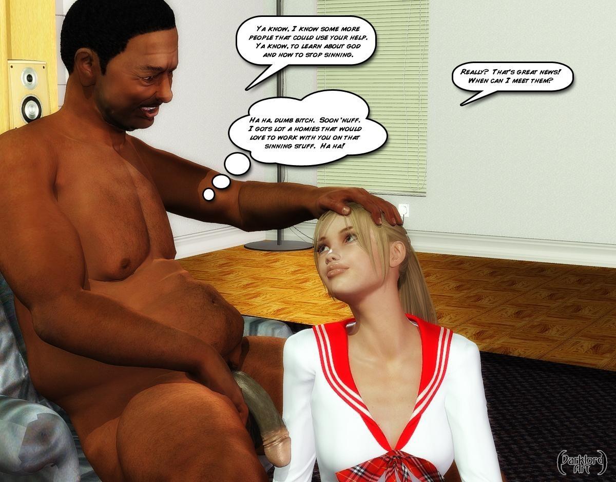 Schoolgirl\'s Evangelism- Darklord - part 2